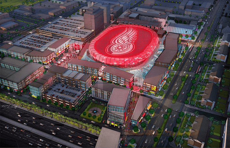 Red Wing Arena ETFE